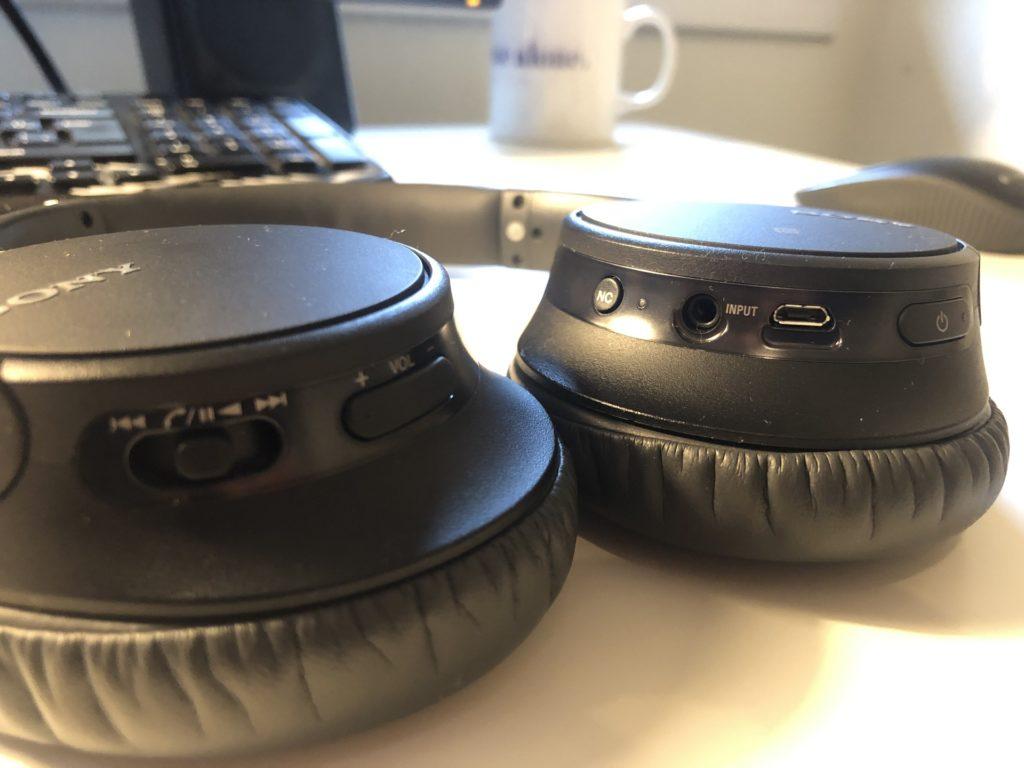 Sony WH-CH700N kulaklık tuşları